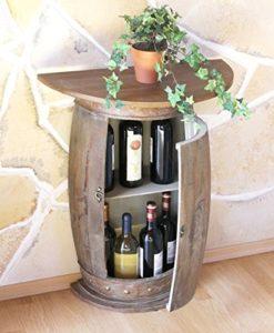 Weinfass Tisch