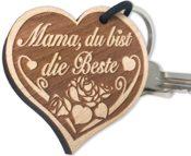 Schlüsselanhänger Mama Herz