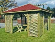 Grosser Gartenpavillon