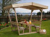 gemütlicher Gartenpavillon