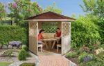 weka Gartenpavillon aus Holz